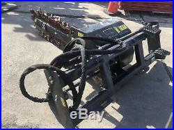 CAT T9B Trencher Skid Steer Attachment
