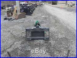 CID Xtreme Skid Steer Auger Post Hole Digger Fits Bobcat MT50 MT52 MT55 463 S70