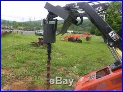 CID Xtreme Skid Steer Auger Post Hole Digger Fits Toro Dingo Mini Skid Steer NEW