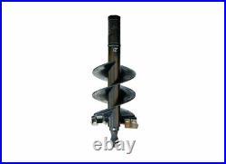 Danuser 12 x 36 Fab Auger Bit 2 Hex Collar Skid Steer Attachment Part 10615-3