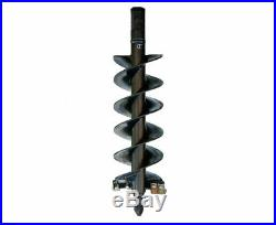 Danuser 12 x 48 Fab Auger Bit 2 Hex Collar Skid Steer Attachment Part 10615