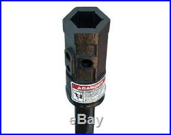 Danuser 2 Rock Drill 2 x 36 with 2 Hex Collar Skid Steer Attachment Part 10739