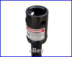Danuser 2 Rock Drill with 2-9/16 Round Collar Skid Steer Attachment Part 10743