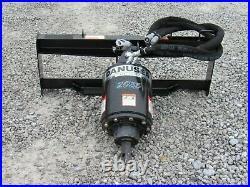 Danuser 2035 Hex PRO Auger Drive with 24 Wide Dirt Bit Fits Skid Steer Loader