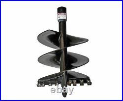 Danuser 24 x 36 Fab Auger Bit 2-9/16 Round Collar Skid Steer Attachment