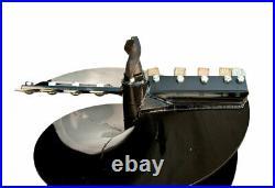 Danuser 30 x 36 Fab Auger Bit with 2-9/16 Round Collar Skid Steer 10634-3
