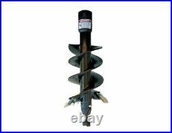 Danuser 9 x 36 Fab Auger Bit 2-9/16 Round Collar Skid Steer Attachment