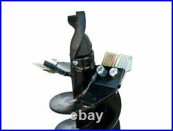 Danuser 9 x 36 Fab Auger Bit 2 Hex Collar Skid Steer Attachment Part 10609-3