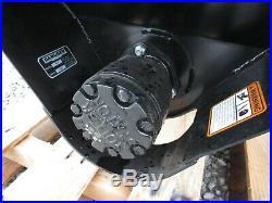 Danuser S75 Mega Mixer Steel Auger Bucket Skid Steer Attachment Free Ship