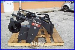 Deere Skid Steer Harley Landscape Power Rake, M6H 6' Hydraulic Angle, In Stock