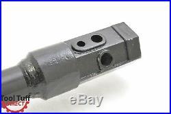 Earth Ogre Industrial Duty Skid Steer Earth Auger Bit, 6 Diameter, 2 Hex Drive