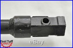Earth Ogre Industrial Duty Skid Steer Earth Auger Bit, 9 Diameter, 2 Hex Drive