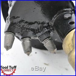 Earth Ogre Industrial Duty Skid Steer Rock Auger Bit, 12 Diameter, 2 Hex Drive