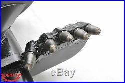 EarthOgre Industrial Duty Skid Steer Rock Auger Bit, 18 Diameter, 2 Hex Drive