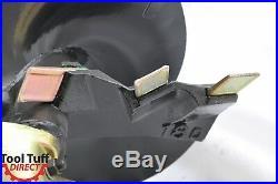EarthOgre Skid Steer Earth Auger Bit, 18 Diameter, 2 Hex Drive