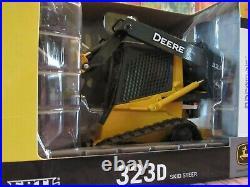 Ertl 1/16 Scale John Deere 323d Skid Steer With Auger Nib Never Displayed