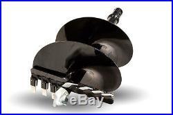 Eterra Auger Bit 24 Fits Skid Steer Auger Attachments Mini Skid & Excavator