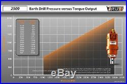 Eterra Excavator Auger Drive 2500 Skid Steer Auger Applications as well