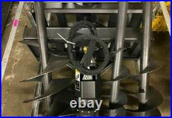 Greatbear Auger Hydraulic Skid Steer Auger Attachment with 3 Bits
