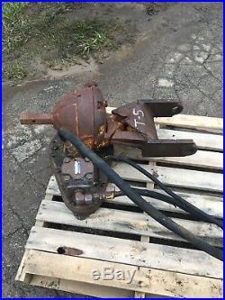 HDD Auger Attachment Danuser Digger Mini Excavator Backhoe Skid Steer Vermeer