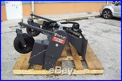 Harley Landscape Power Rake, M6H 6' Hydraulic Angle, Fits All Brands of Skid Steer