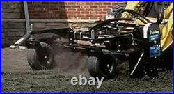 Harley Power Landscape Rake 8' Hydraulic Angle MX8H Fits All Large Skid Steers