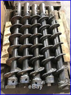 Heavy Duty 12 Dirt Auger Bit for Skid Steer 2 Hex Hub MFG in the US