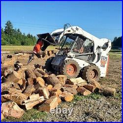 Log wood and stump splitter THE ORIGINAL 300 TON ATOM SPLITTER auger screw type