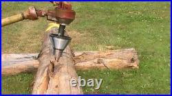 Log wood splitter THE ORIGINAL 300 TON ATOM SPLITTER auger screw type