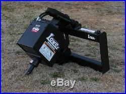 Lowe 1650 Hex Auger Drive Attachment with 6 Wide Bit Fits Skid Steer Loader