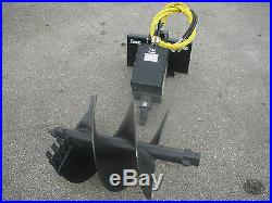 Lowe 750 Classic Auger Drive with 24 Auger Bit Fits Toro Dingo Mini Skid Steer