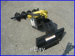 Lowe 750 Classic Drive Attachment with 9 Auger Bit Fits Mini Skid Steer Toro