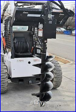Lowe 750 Classic Hex Auger Drive Digger with 18 Wide Bit Fits Skid Steer Loader