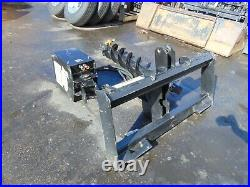 Lowe 750 New Universal Skid Steer -super- Auger Fence Post Drill Attachment