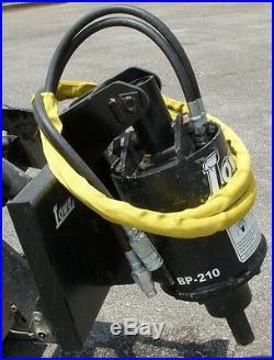 Lowe BP-210 Hex Auger Drive Post Hole Digger Fits Toro Dingo Mini Skid Steer