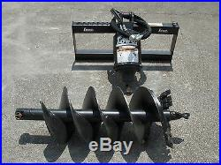 Lowe BP-210 Hex Auger Drive with 18 Auger Bit Fits Skid Steer Loader, Planetary