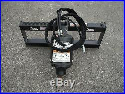 Lowe BP-210 Hex Auger Drive with 6 Auger Bit Fits Skid Steer Loader, Planetary