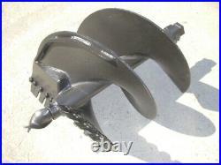 Lowe SQ-24-3H Skid Steer Auger Bit 24 Diameter, 2 Hex Collar, 36 Tall