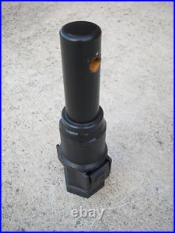 Lowe Skid Steer Auger Bit Adapter 2 Hex to 2 Round Shaft Collar