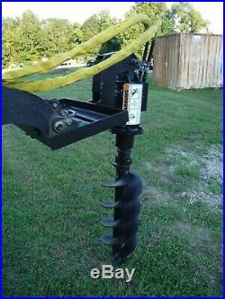 Lowe TJ100 Mini Skid Steer Auger Post Hole Digger with 12 Auger Bit Ship $199