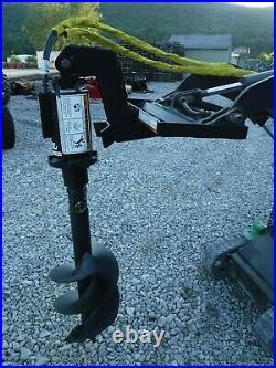 Lowe TJ100 Mini Skid Steer Auger Post Hole Digger with 15 Auger Bit Ship $199