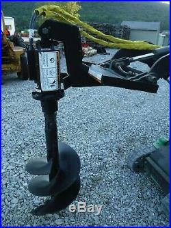 Lowe TJ100 Mini Skid Steer Auger Post Hole Digger with 18 Auger Bit Ship $199