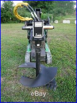 Lowe TJ100 Mini Skid Steer Auger Post Hole Digger with 30 Auger Bit Ship $199