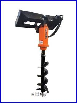 M200 2 Hex Earth Auger withPlanetary Drive for Skid Steer/Bobcat/JD/Kubota/Gehl