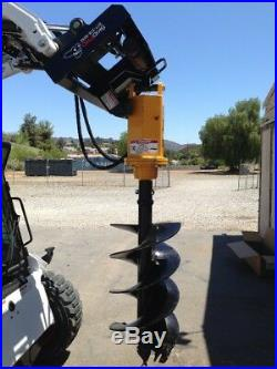 M300 2 Hex Earth Auger withPlanetary Drive for Skid Steer/Bobcat/JD/Kubota/Gehl