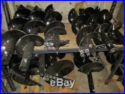 MTL Attachments 48 x 12 skid steer HD Auger Bit with2-9/16 Round -Free Shipping