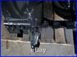 MTL Attachments 48 x 12 skid steer HD Auger Bit with2 Hex -Free Shipping