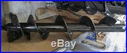 MTL Attachments 48 x 30 skid steer HD Auger Bit with2-9/16 Round -$159 ship