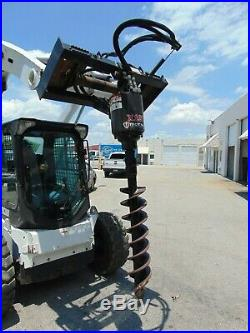 Mc MILLEN X-1975 SEVERE DUTY SKID STEER ATTACHMENT AUGER WITH (2) BITS 9 & 16
