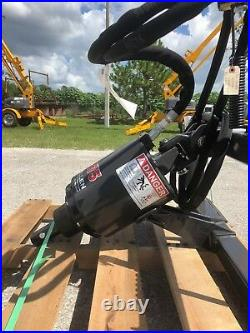 McMillen X1475 Skid Steer Auger Package, Planetary Drive, Choice of 6 or 9 Bit